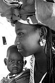 Senegal, Saint Louis, Ganket, nomad peulh