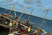 Kenya Lamu archipelago Lamu port