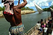 Kenya Lamu archipelago Manda channel