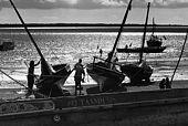 Kenya, Lamu archipelago porto della cittâ