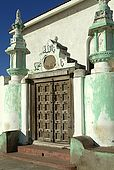 Kenya Lamu archipelago Lamu town Shiaithna asheri mosque