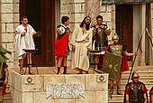 italy-sicily-palermo-settimana santa, quartiere Partanna/Mondello-nel sinedrio
