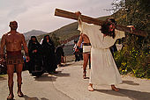italy-sicily-palermo-settimana santa, quartiere Partanna/Mondello-il calvario