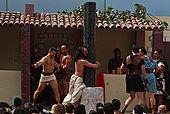 italy-sicily-palermo-settimana santa, quartiere Partanna/Mondello-la flagellazione