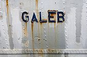 Galeb, meaning 'Seagull' was Tito's old luxury yacht, now in a state of decay in a shipyard in Rijeka, Croatia. The local government intends to convert the historical ship into a museum.