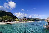 Polynesia, Moorea island, Sheraton hotel