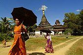 Arakan, Mrauk U, Phara Baw temple