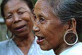 Arakan, Mrauk U, typical earring Shakama people
