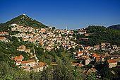 Croatia Lastovo Island View of Lastovo village.
