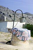 Croatia Lastovo Island Struga lighthouse - The well.