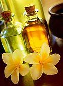 IN*Fleurs de frangipanier et huiles essentielles