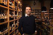 Marco Bindella, La Bottiglieria wine shop, Bassano del Grappa, Veneto, Italy. tel: 0424 523993