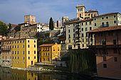 Bassano del Grappa on the River Brenta, Veneto, Italy