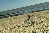 Uruguay, Montevideo,  Playa Ramirez