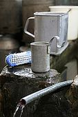 Tools in Mr. Meshini's workshop, village of Kosova, Province of Permet, Albania