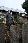A farmer, village of Strembec, Valley of Permet, Albania