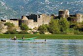 Montenegro, Skadarsko jezero, Lesendro fortress