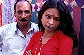Pakistan - Hijra, les demi-femmes du Pakistan - Gulama et son 'fiancé'