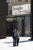 Plaza del Pilar, Zaragoza, Saragossa, Aragon, Spain