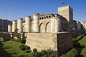 Palacio de la Aljaferia, Zaragoza, Saragossa, Aragon, Spain