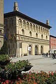 La Lonja, Plaza del Pilar, Zaragoza, Saragossa, Aragon, Spain