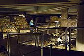 Roman Forum Museum, Plaza La Seo, Zaragoza, Saragossa, Aragon, Spain