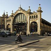 Central Market, Zaragoza, Saragossa, Aragon, Spain