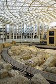 Teatro Caesaraugusto (Roman Theatre), Zaragoza, Saragossa, Aragon, Spain
