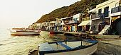 The fishing village of Klima, Milos Island, Greece