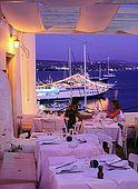 Adamas village, Aragosta restaurant, Milos Island, Greece