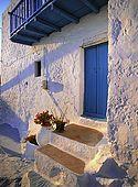Typical architecture, Milos Island, Greece