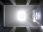 Uk; Kent; Shipley; Private House; View Up To Skylight; Architect: Richard Reid & Associates