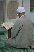 Turquie, Istanbul, Kuran reading