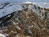 Italy, Veneto, I World War (1915-1918)  Monte Grappa locations. Boccaor-Meate military road