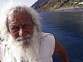 Italy, Sicily, Stromboli island. Mario Cusolito painter