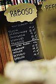 Italia,Venezia - locale tipico Cichetteria venexiana Da Luca e Fred - Cannaregio, 1518 - Ponte delle Guglie  Tel.041716170 elenco dei vini proposti