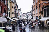 Italia,Venezia - Cannaregio nei pressi del  Ponte delle Guglie