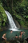 'Cascade aux Ecrevisses', Routes de la Traversée, Guadeloupe (Basse Terre), French West Indies