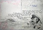 Disegno fatto da un ospite a L'Habitation Matouba, Petit Parc, 97120 Saint-Claude, Guadeloupe (Basse Terre), French West Indies. tel: 0590 800928