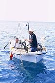 Balkan, Adriatic sea coast    Republic of Montenegro    near Budva Pic nic     on the beach 'Kajanegra'    fixing fisherman soup    Model Release OK