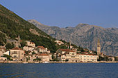 Balkan, Adriatic sea coast    Republic of Montenegro    Kotor Bay    Perast