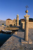 Balkan, Adriatic sea coast    Republic of Montenegro    Kotor Bay    Perast    Island of Gospa Skerjela    (Lady of Skrpljel)