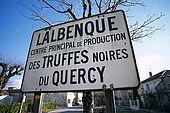 France, Lot, Quercy region village Lalbenque marché du mardi