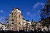 France, Lot, Quercy region ville de Cahors Cathédrale Saint-Etienne