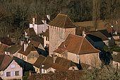 France, Lot, Quercy region village classé Saint Martin de Vers