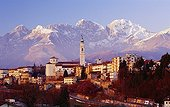 Italie, Vénétie, Belluno, Zone Méditerranéenne, Alpes, Dolomites, Province de Belluno