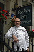 Roger Marlowe, owner of Paskins Horel and President of the Brighton Hotel Association. Roger is famous for his cooked breakfasts