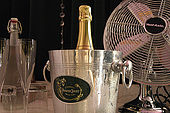 Every room in Blanch House has a bottle of chilled Champagne to welcome its guests
