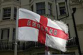 England flag, Brighton
