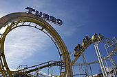 Rollercoaster on Brighton Pier